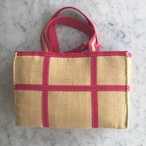 Ralph Lauren straw bag